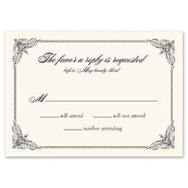 Truly by William Arthur Truly Weddings - Digital 123377 123301 Response Card