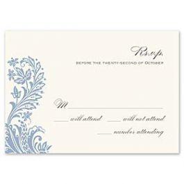 Truly by William Arthur Truly Weddings - Digital 123385 123307 Response Card