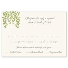 Truly by William Arthur Truly Weddings - Digital 123387 123308 Response Card