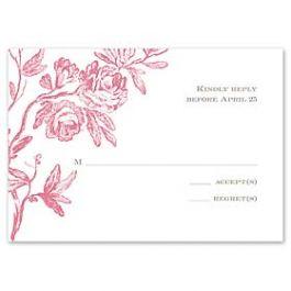 Truly by William Arthur Truly Weddings - Digital 123393 123311 Response Card