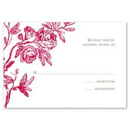 Truly by William Arthur Truly Weddings - Digital 123398 123313 Response Card