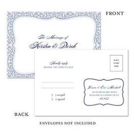 Truly by William Arthur Truly Weddings - Digital 123400 123314 Response Card