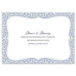 Truly by William Arthur Truly Weddings - Digital 123401 123314 Reception Card