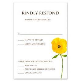 Truly by William Arthur Truly Weddings - Digital 123406 123317 Response Card
