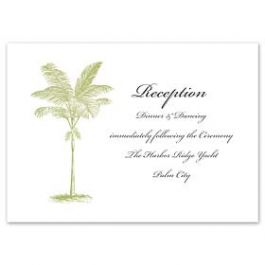Truly by William Arthur Truly Weddings - Digital 123409 123319 Reception Card
