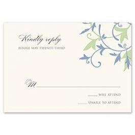 Truly by William Arthur Truly Weddings - Digital 123422 123326 Response Card