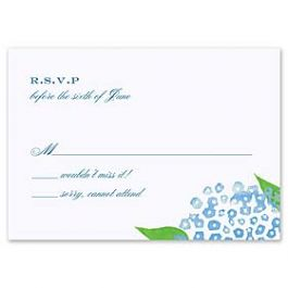 Truly by William Arthur Truly Weddings - Digital 123446 123338 Response Card