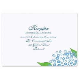 Truly by William Arthur Truly Weddings - Digital 123447 123338 Reception Card