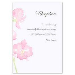 Truly by William Arthur Truly Weddings - Digital 123451 123341 Reception Card