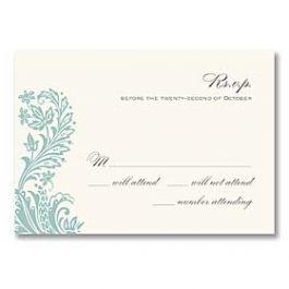 Truly by William Arthur Truly Weddings - Digital 125700 125689 Response Card