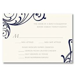 Truly by William Arthur Truly Weddings - Digital 125709 125692 Response Card