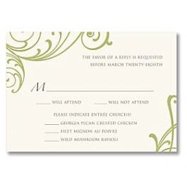 Truly by William Arthur Truly Weddings - Digital 125711 125693 Response Card
