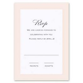 Truly by William Arthur Truly Weddings - Digital 126989 126983 Response Card
