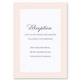 Truly by William Arthur Truly Weddings - Digital 126990 126983 Reception Card