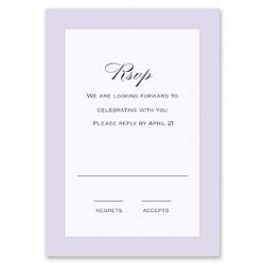 Truly by William Arthur Truly Weddings - Digital 126991 126984 Response Card
