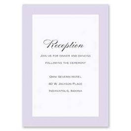 Truly by William Arthur Truly Weddings - Digital 126992 126984 Reception Card