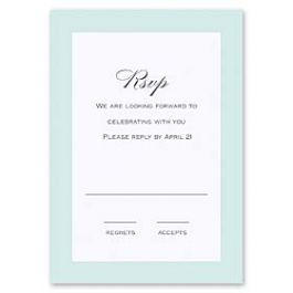 Truly by William Arthur Truly Weddings - Digital 126993 126985 Response Card