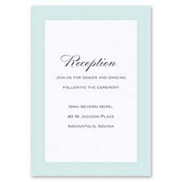 Truly by William Arthur Truly Weddings - Digital 126994 126985 Reception Card