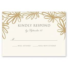 Truly by William Arthur Truly Weddings - Digital 126997 126987 Response Card