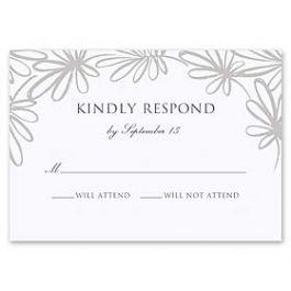 Truly by William Arthur Truly Weddings - Digital 126999 126988 Response Card