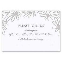 Truly by William Arthur Truly Weddings - Digital 127000 126988 Reception Card