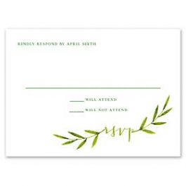 Truly by William Arthur Wedding 2018 129689 129669 Response Card