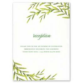 Truly by William Arthur Wedding 2018 129690 129669 Reception Card