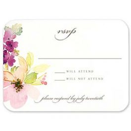 Truly by William Arthur Wedding 2018 129695 129672 Response Card