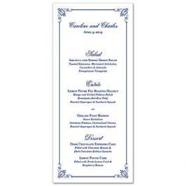Lolo Lincoln Wedding 124466 124416 Menu Card