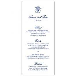 Lolo Lincoln Wedding 124474 124422 Menu Card