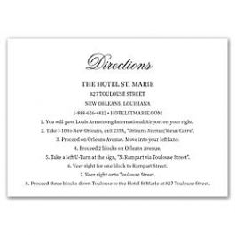 Lolo Lincoln Wedding 124492 124434 Directions Card