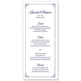 Lolo Lincoln Wedding 124494 124437 Menu Card