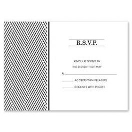 Design With Heart Wedding 125781 125572 Response Card