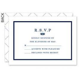 Design With Heart Wedding 125784 125574 Response Card