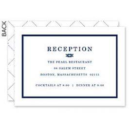 Design With Heart Wedding 125785 125574 Reception Card