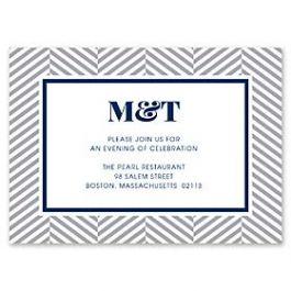 Design With Heart Wedding 125787 125576 Reception Card