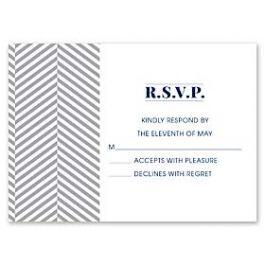 Design With Heart Wedding 125788 125576 Response Card