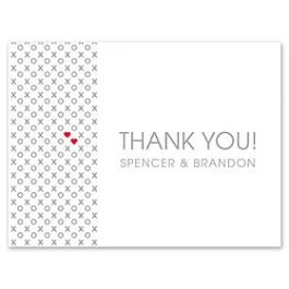 Design With Heart Wedding 125792 125580 Thank You Note