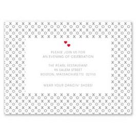 Design With Heart Wedding 125794 125580 Reception Card