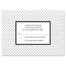Design With Heart Wedding 125796 125582 Response Card