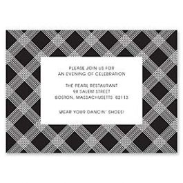 Design With Heart Wedding 125797 125582 Reception Card