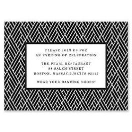 Design With Heart Wedding 125810 125593 Reception Card