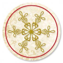 Rejoice Snowflake Seals