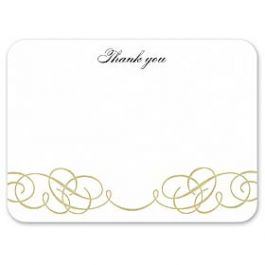William Arthur Invitations & Announcements Volume II 2011 106256 105627 Thank You Note