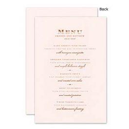 William Arthur Weddings Volume 3 2014 119310 118830 Menu Card