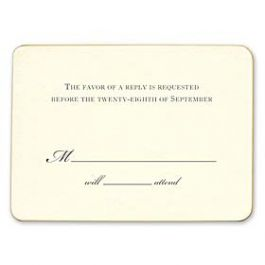 William Arthur Weddings Volume I 2016 127350 127285 Response Card