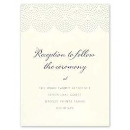 William Arthur Weddings Volume I 2016 127490 127482 Reception Card