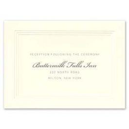 William Arthur Weddings Volume I 2016 127496 127480 Reception Card