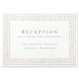 Matching Reception Card