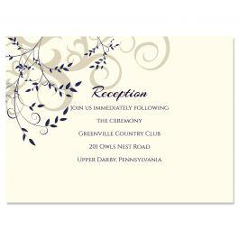 PostScript Press Wedding 121434 121387 Reception Card